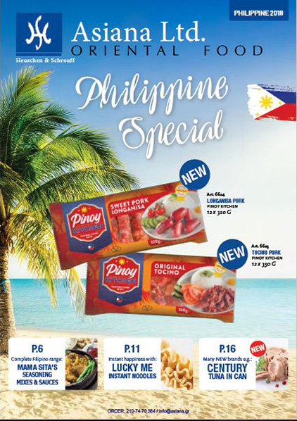 Philippine Special – Brochure