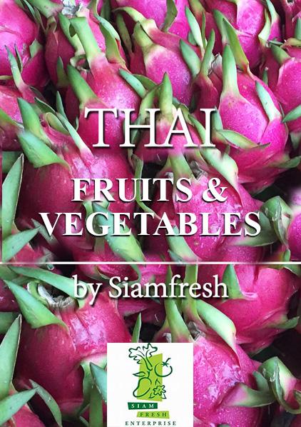 Siam Fresh – Brochure